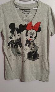 Disney Minnie and Mickey top